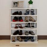 Hölzerne Regal-hölzerne Speicher-Schuh-Zahnstange der Möbel-4 für Wohnzimmer