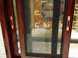 Finestra di scivolamento di alluminio della venatura del legno economizzatrice d'energia (BHA-SW34)