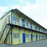 Prefab дома Premanufactured дома этажа стальной структуры Multi для работников