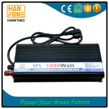 Qualität 12V 24V, Gleichstrom zu Wechselstrom weg vom Rasterfeld-Inverter mit Aufladeeinheit 1000W
