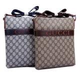 Borse del cuoio del sacchetto di Tote del messaggio di marca