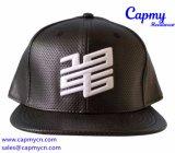 Surtidor plano de cuero del casquillo del sombrero del borde en China