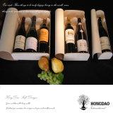 Hongdao om Verpakkende Doos van de Gift van de Wijn van de Buis de Houten voor de Doos Houten _E van de Opslag van de Wijn van de Verkoop