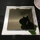 لوّن برونز خفيفة مرآة يجعل في الصين صاحب مصنع مرآة زجاج لأنّ بني