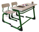 Schule Furniture Double School Desk und Chair Sf-32D