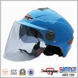 Doppelte Masken-halber Gesichts-Motorrad-/Motorrad-/Roller-Sturzhelm (HF314)