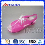 Sandali laterali molli delle donne del PVC di nuovo stile (TNK50046)