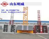Chargement maximal compétitif de la Chine Mingweisupplier Tc5516 de grue à tour de construction de qualité de Mingwei : chargement 8t/Tip : 1.6t