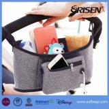 Transportador do tecido do bebê do organizador do carrinho de criança