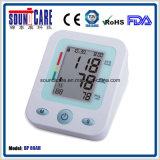 Grand moniteur de pression sanguine de bras d'affichage à cristaux liquides Digital (point d'ébullition 80AH) pour des soins de santé
