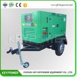 комплект генератора 50Hz 40kVA Cummins тепловозный с малошумным уровнем