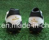 Weiße Farben-neue Entwurfs-Fußball-Schuhe