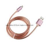 Câble USB métallique pour le chargement et le transfert de données pour les téléphones