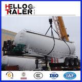 3 Axles 40cbm ви-образност сухой навальный цемента топливозаправщика трейлер Semi