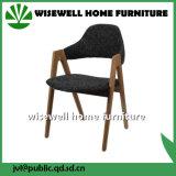 Cadeira de madeira do restaurante da cinza contínua (W-DC-03)