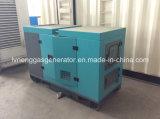 Tipo silenzioso generatori diesel raffreddati ad acqua di Qpproved del Ce di 200kVA con ATS