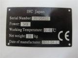 Máquina de madera de la marca del laser del CO2 del cable del paño de la botella plástica