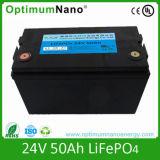Vollständige Lithium-Batterie des Verkaufs-24V 50ah