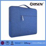 Saco Multifunctional do portátil da bolsa da pasta da luva da tela do poliéster de 12.9-13.3 polegadas