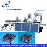 Bandeja de la fruta del envase del motor servo que forma la máquina (DHBGJ-350L)