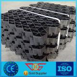 Pavers решетки травы решетки решетки гравия HDPE для подъездной дороги