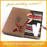 Paquet d'écharpe sur mesure Boîte cadeau Boîte