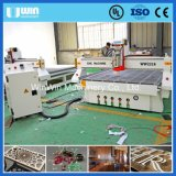 Автомат для резки CNC двери Ww2216 MDF дешевого камня цены деревянный