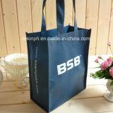 Sac à provisions non-tissé de qualité/sac d'emballage avec le logo fait sur commande