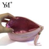 Saco do cosmético da pele do pônei da cor-de-rosa da forma do produto novo