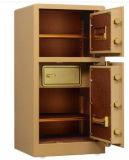 Caja fuerte de lujo de la oficina de $ del hogar de la puerta doble