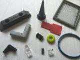 形成された熱可塑性、シリコーンゴムの部品