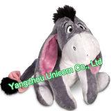 Peluche molle de coton de pp avec le jouet de peluche d'âne de coeur