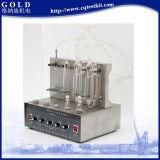 Probador del contenido de sulfuro del aceite de la luz del método de la lámpara del precio bajo de Gd-380b