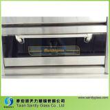 3.2mm 4mm hanno temperato il vetro termoresistente del portello del forno