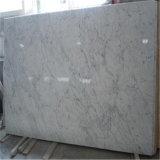 Prezzi di marmo bianchi Polished dell'Italia Carrara delle mattonelle di pavimento