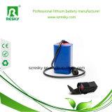Batterie-Satz 11.1V 18650 2600mAh für Notleuchte