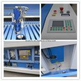 Máquina de estaca de alimentação do laser da tela de matéria têxtil auto para a tela