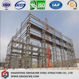 Atelier élevé de structure métallique de Peb jeté avec la grue