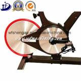 Kundenspezifisches spinnendes Fahrrad-magnetisches Fahrrad-Rad mit Gussteil und der maschinellen Bearbeitung