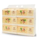 Машина упаковки лицевых тканей для дюжины упакованных Baler бумажной салфетки