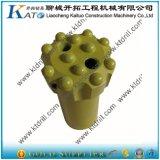 Type normal outil d'amorçage de T38 T45 T51 à pastilles de forage de roche