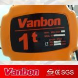 1ton фикчированный тип электрическая таль с цепью (WBH-01001SF)