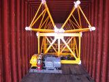 La capacité de charge maximum des grues à tour Qtz80 (TC5512) est le chargement 8t/Tip : 1.2t/Boom : 55m