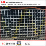 Tubo de acero rectangular del carbón común con alto Quanlity