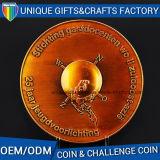 Moneta su ordinazione professionale del metallo del bollo