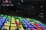 Assoalho de dança video de alta resolução do diodo emissor de luz