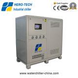 Refrigeratore industriale raffreddato ad acqua per industria di plastica