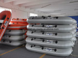 Liya 2.2m bis 2.8m Inflatable Paddle Boat Small Fishing Boat