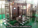 De volledige Automatische Apparatuur van de Pasteurisatie van de Melk van de Plaat