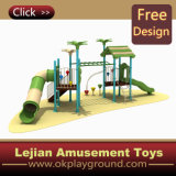 CE plastique Enfants Équipement extérieur Aire de jeux pour le parc (X1229-2)
